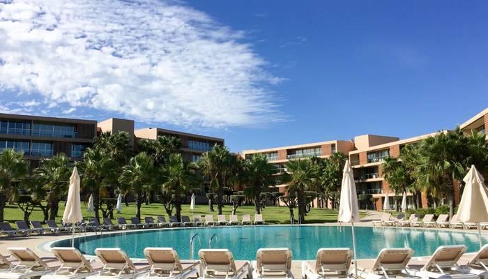 Luxury apartments at Salgados beach